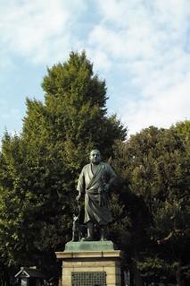 Statue of Takamori Saigo, Ueno, Tokyo - 2 | by ushiwatat