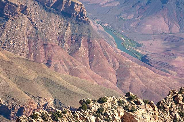 Mangled landscape at the North Rim of the Grand Canyon