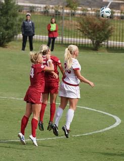 University of Arkansas Razorbacks vs University of Alabama Crimson Tide Soccer