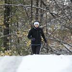 Koncem října 2012 se v Jizerských horách běhalo na prvním sněhu., foto: Petr Kostovič