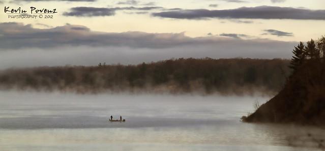 Fishin' in the fog