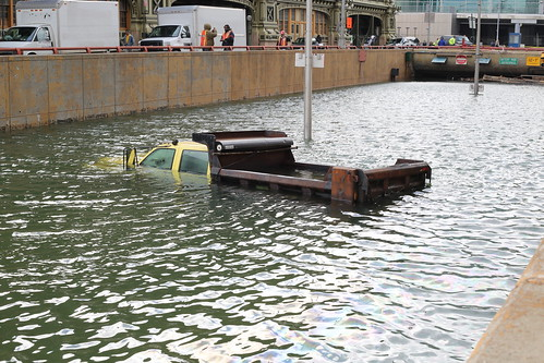 Flooded Battery Park Tunnel after Hurricane Sandy | by WarmSleepy