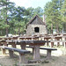 Picnic Tables and Stone Shelter