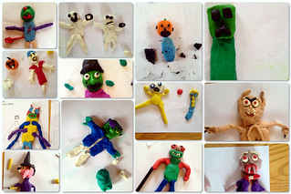 THE OLD TOWN HALL ANIMATION WORKSHOP PUPPETS | by Quirky Pictures Animation Workshops