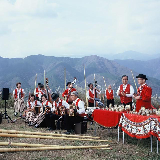 Swiss festival at the top of Onoyama, Kanagawa
