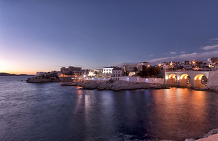 "Blue Hour on the Passedat ""Petit Nice"" 