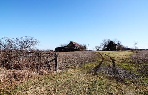 county ohio house abandoned field barn gate farm union historic desolate hopkins irwin township