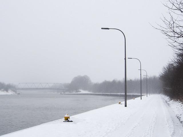 Schleuse Flaesheim Winter-8