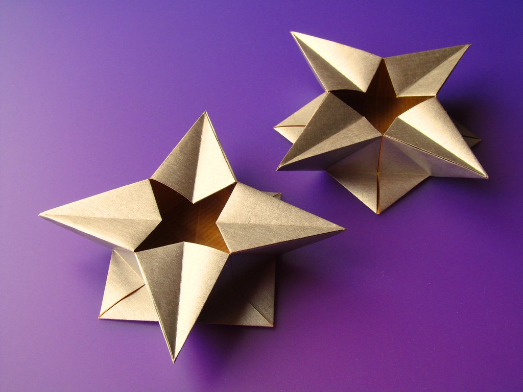 How to make a Paper Star Box for begginers - Origami Star Box ... | 768x1024