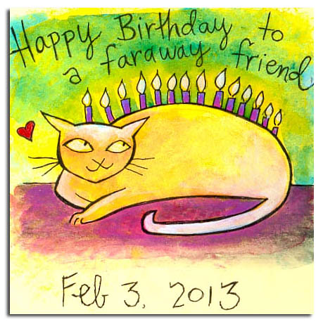 Happy Birthday To A Faraway Friend Because I Dont Know Ho Flickr
