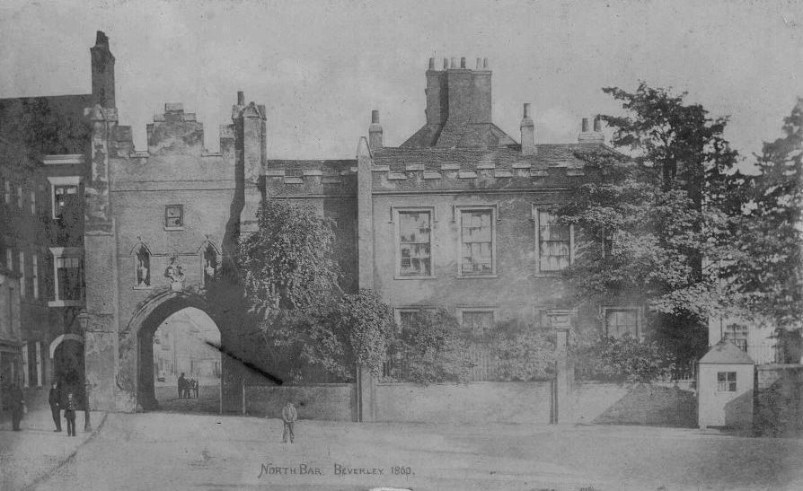 North Bar Without, Beverley 1860 (archive ref PE1-T38)