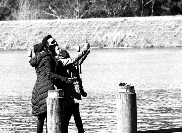 Tourist Selfie
