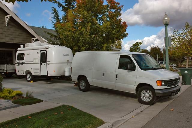 Van & Trailer
