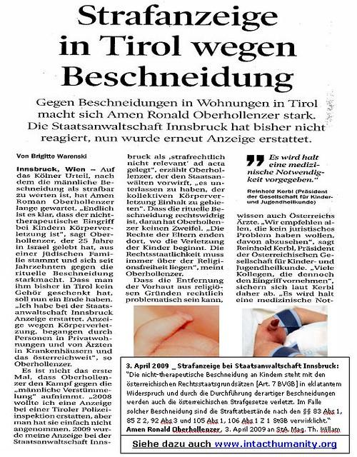 Beschneidung forum