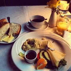 Frukost på #blåtåget