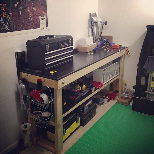 My work shop put together and organized. | by amckimmey