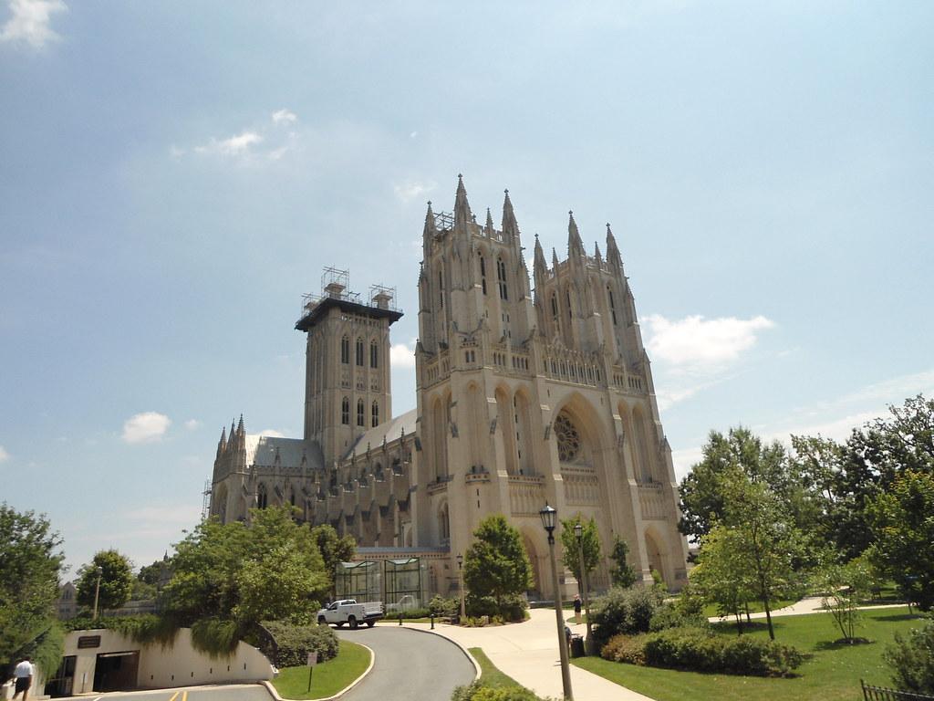 La Catedral Nacional de Washington/The National Cathedral, Georgetown, Washington DC 2012, USA - www.meEncantaViajar.com