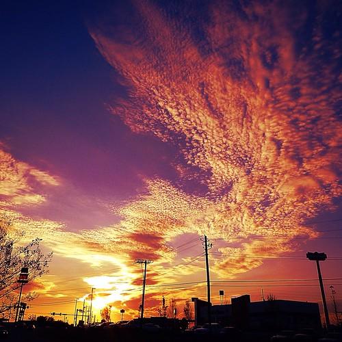 city sunset sky usa nature clouds outdoors evening sundown augusta shorticus3652012