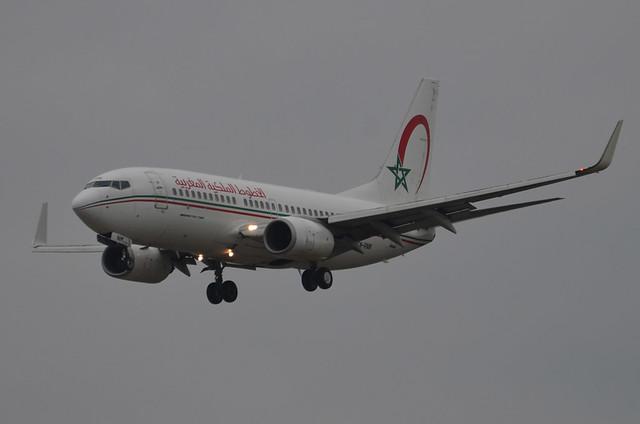 Royal Air Maroc (RAM) Boeing 737-7B6 CN-RNM