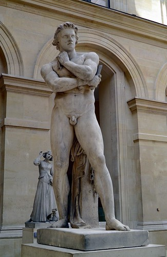 Spartacus Marble Sculpture Of Denis Foyatier 1830 Louv