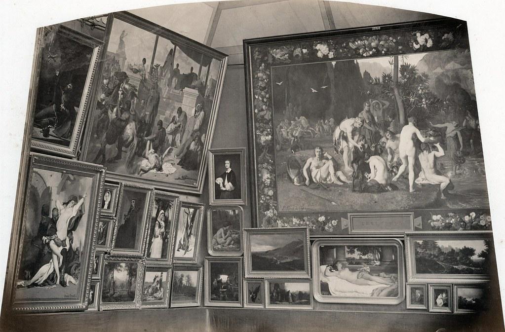 Pierre Ambroise Richebourg Salon Peinture De Paris 1861 Flickr