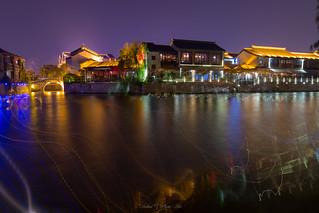 Memory of a hot summer night 姑苏灯火 by Dahai Z