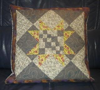 Richard's Star Pillow
