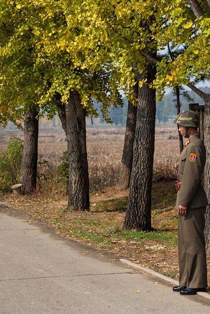Soldier On Guard - Panmunjom