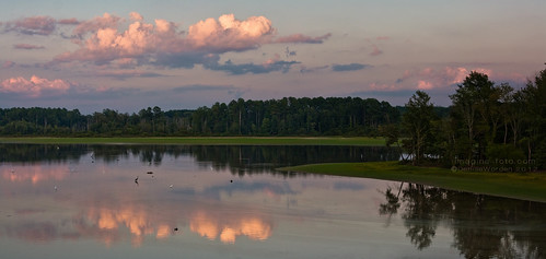 trees sunset panorama lake water clouds canon landscape panoramic chathamcounty jordanlake imaginefotocom