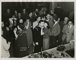 "Chanukah religious service and party, held at the Baltimore ""Y"" 