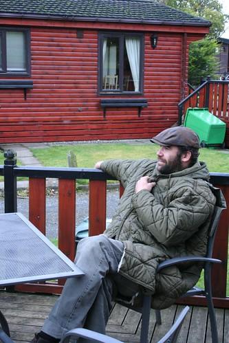 Rory McCann Loch Lomond Lodge.