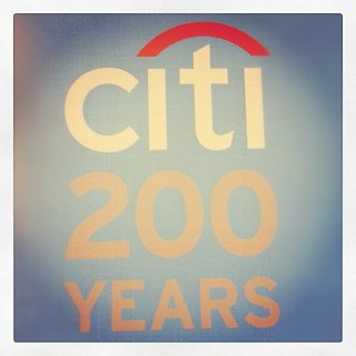 Citi 200 years. 200 years of CitiBank.