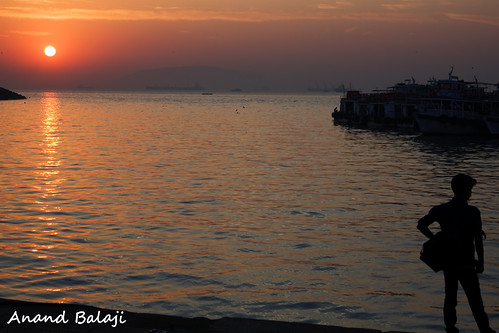 morning travel india tourism water fog sunrise photography gold golden bay harbor early smog haze asia harbour bombay gateway mumbai justpentax pentaxart