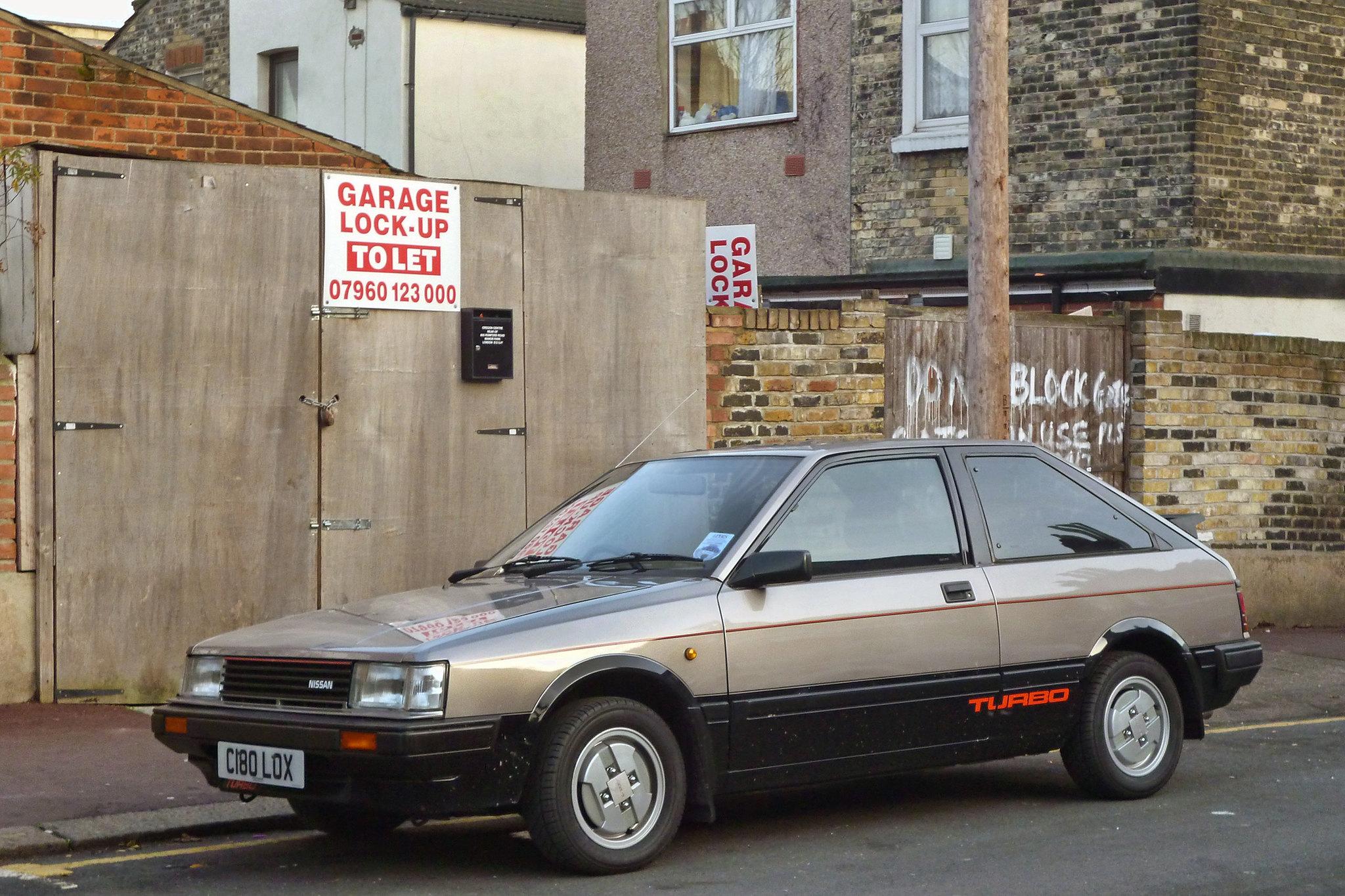 1986 Nissan Cherry Turbo (N12) Hatchback