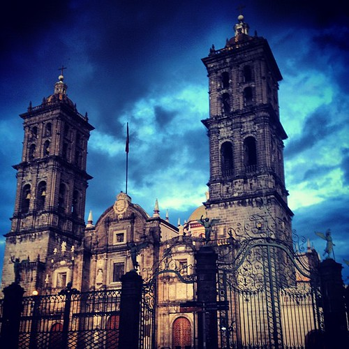 Catedral, Puebla de los Angeles