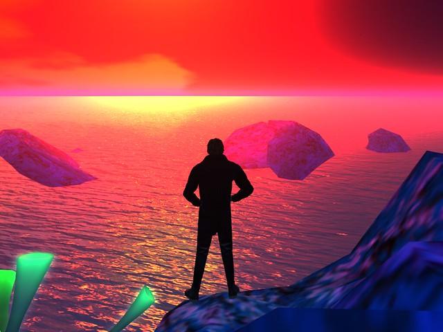 Gool Rush -Seeking a Distant  Hopeful Shore