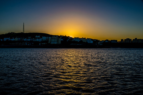 port st mary isle man sunset seaward sea water mooring yacht boat silhouette nikon d600 nikkor 35mm af f2d irish