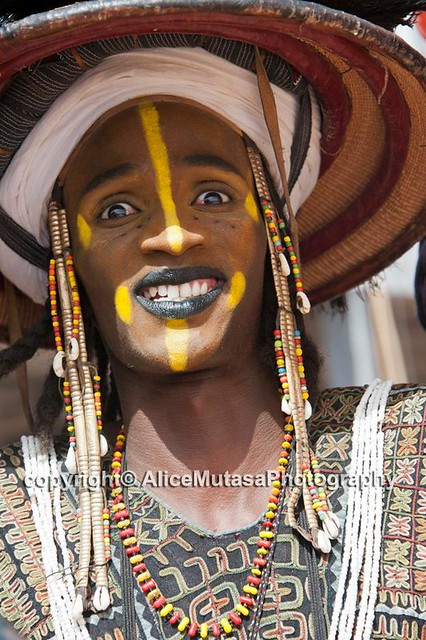 Unknown Wodaabe - Fulani man