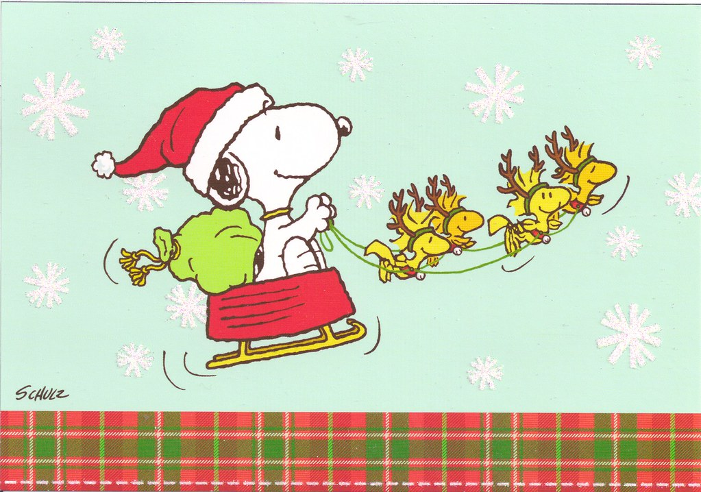 Snoopy Christmas Images.Snoopy Christmas Sleigh Mailbox Happiness Angee At