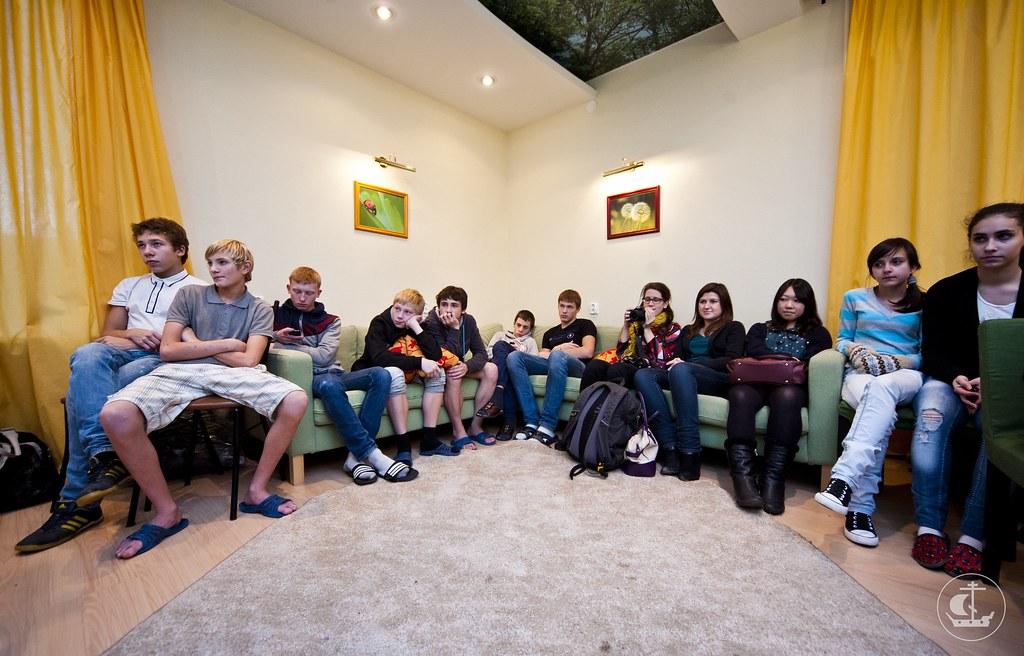 9 ноября 2012, Встреча с воспитанниками Детского дома Центра образования № 167