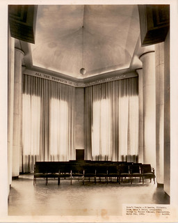 March 5, 1953 - alcove at the Baha'i House of Worship | by Sholeh