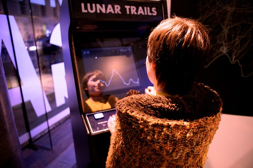 Lunar Trails at the Dublin Science Gallery | by sebleedelisle