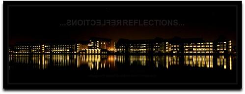 cars night reflections mirror automotive visteon