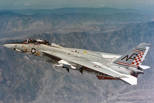 VF-211 F-14A Tomcat BuNo 159618