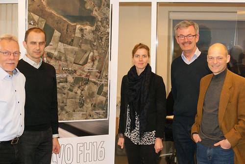 Besøg hos FilmFyn i Svendborg, DLF Trifolium på Langeland og Cargo Syd i Guldborgsund   by Ellen Trane Nørby