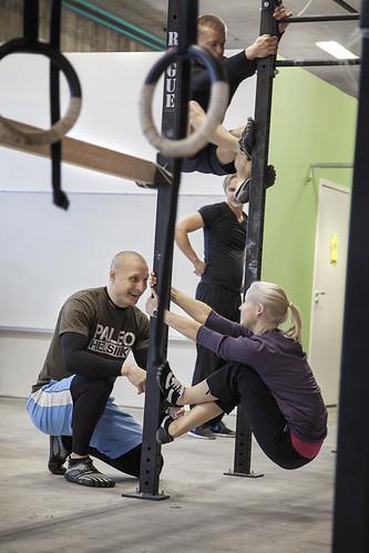 Luonnollisen liikkumisen kurssi 4.11.2012   by Helsinki Paleo