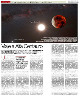 Zoco Astronomía: Viaje a Alfa Centauro   by Ángel López-Sánchez