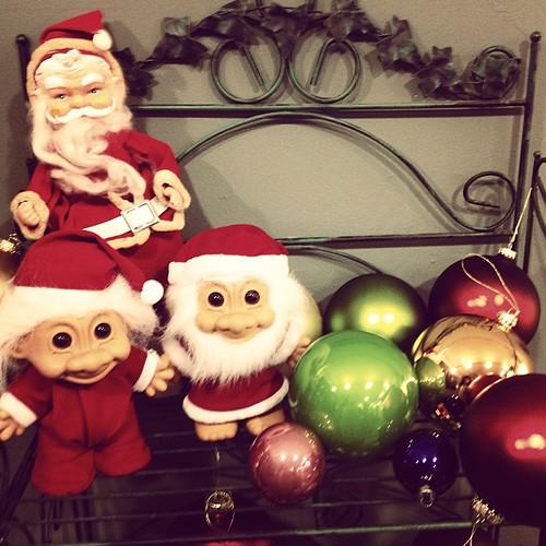 I had Santa Troll. #vintagechristmas | by sarahwulfeck