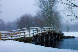 Snow Falling on North Bridge
