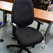 Grey swivel chair E150 ex demo
